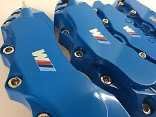 BMW M BRAKE CALLIPER COVER 4PCS BLUE model UNIVERSAL CALIPER COVER SET