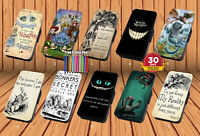 Alice in Wonderland for Leather Flip iPhone Samsung And Huawei Wallet Case