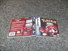 REPLACEMENT NINTENDO GAMEBOY ADVANCE GAME CASE BOX - POKEMON RUBY