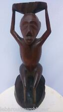 ancienne Statue africaine.old African statue top ++++++musée