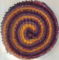 Batiks Menagerie Laurel Burch 2.5 inch strips roll sunrise Clothworks fabric