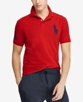 Polo Ralph Lauren Men's Big Pony Slim Fit Polo Shirt, Red, Size L, $99 NwT
