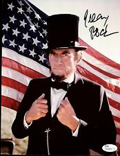 "GREGORY PECK ACTOR, ""ABE LINCOLN"" OSCAR WINNER 8X10 SIGNED JSA COA #R66847"