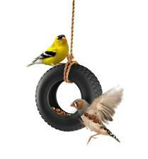 Swing Time Hanging Ceramic Tire Bird Feeder BRAND NEW SEALED Outdoor