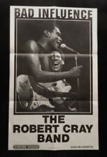 >orig./Rare 1983-dated THE ROBERT CRAY BAND Bad Influence *RECORD STORE POSTER*