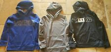 Under Armour Youth Sweatshirts Blue & Grey Size Medium M - Black Size Large L