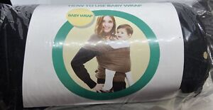 Made To Be Happy Baby wrap. Hands Free Swaddle. Newborn-35 Pounds-Cotton/Spandex