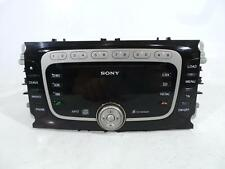 2008 FORD MONDEO RADIO CD CHANGER SONY VP6M2F-18C821-FB *NO CODE