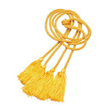Bright Gold DOUBLE Honor Cord College High School Graduation Best Quality