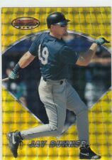 JAY BUHNER BOWMAN'S BEST ATOMIC REFRACTOR GOLD SEATTLE MARINERS #62 1996 96