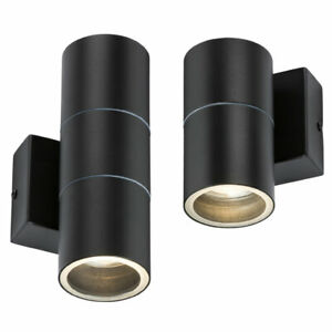 Waterproof LED Wall Light Up Down Outdoor Indoor Lamp Sconce IP54 Lamp GU10 240V