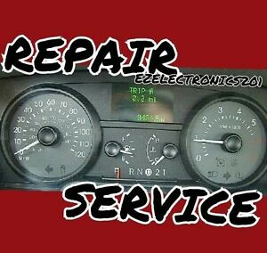 MERCURY GRAND MARQUIS INSTRUMENT CLUSTER REPAIR SERVICE SPEEDOMETER 2006 T0 2011