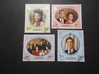 Jersey 1972 Commemorative Stamps~Silver Wedding~Very Fine Used Set~UK Seller