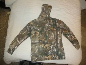 Game Winner Drawstring Hoodie Pullover Camouflage Hunting Size xL