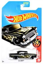 2017 Hot Wheels KMart Day HW Flames 3/10 '55 Chevy Green Diecast Ships in Box!