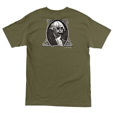 Santa Cruz Jason Jessee DOLLAR Skateboard T Shirt MILITARY GREEN XXL