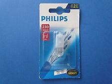 RAREMENT Philips Halogène SALUT BROCHE 230V G9 60W ◆ Brillant ◆ Mat Art.Nr.14690