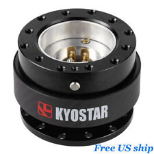 Kyostar Real Carbon Fiber Steering Wheel Quick Release Control Hub Adapter
