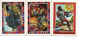 1991 GI Joe Hasbro Impel Trading Cards Series 1 HISS #16 Crimson Guard Immortal