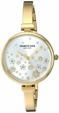 Kenneth Cole New York Women's Gold Tone Stainless Steel Quartz Watch KC50746002