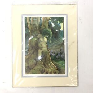 JAMES BROWNE Wood Nymph Limited Signed by the Artist Matted Print