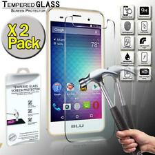 2 Pack Real Tempered Glass Screen Protector Cover For BLU Grand M2