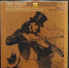 THE VIOLIN VOL 3  HYMAN BRESS CHARLES REINER FOLKWAYS 3353 LP SEALED