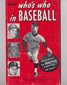 1969 Who's Who In Baseball Lifetime Records & Photos