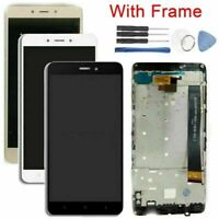 For XIAOMI REDMI Note 4 LCD Display Touch Screen Digitizer W/Frame Repair Kit HY