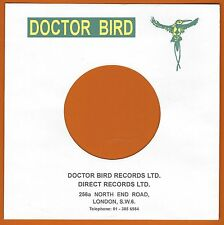 DOCTOR BIRD REPRODUCTION RECORD COMPANY SLEEVES - (pack of 10)