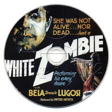White Zombie (1932) Bela Lugosi Horror Film/Movie on DVD