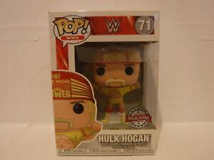 FUNKO POP! WWE - HULK HOGAN SPECIAL EDITION #71