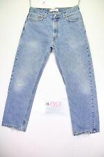 levis 505 (Cod. H1853) Tg48 W34 L30 regular fit  jeans usato vintage