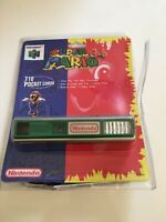 ❤️ Nintendo 64 N64 Neuf Sous Blister Rigide Appareil Photo Super Mario Camera