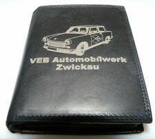 Trabant 601 Leder Geld Börse Barkas DDR IFA Wartburg Lada Bus Trabbi AWO EMW VEB