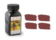 NOODLERS Fountain Pen Ink Bottle - 3oz - RED BLACK