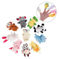 10 Animal Finger Puppets toy set children's finger puppetsB_SE