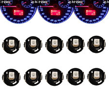 LOT10 Blue T4 T4.2 BLUE NEO WEDGE LED GLOBES SMD LED DASH CLUSTER Car AU Seller