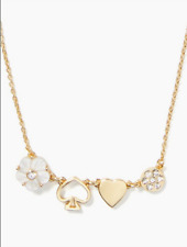 Authentic Kate Spade Mini Things Row Necklace 16''