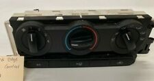 2007 Ford Edge Climate Control Panel Switch