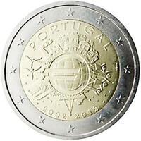 2 euro Portogallo 2012 UME decennale unione monetaria