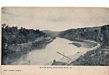 Beaver River & Railroad in Rock Point Park Pa Pre 1908