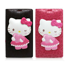 Genuine Hello Kitty Standing Flip Case iPhone 7 Case iPhone 7 Plus Case 6 Colors