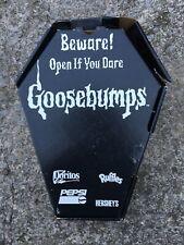 1996 Goosebumps Pepsi Manager Promotion Coffin Box rare.