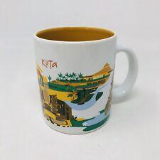 Starbucks Indonesia Series Kuta Coffee Mug 16 oz 2014 Coffee Cup Genuine