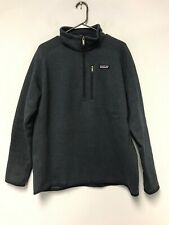 Patagonia Better Sweater 1/4 Zip Pullover 25522 Classic Navy Blue Mens Size L