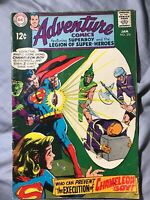 Adventure Comics #376 (1969) VG DC Key Issue Silver Age Neal Adams See Pics!