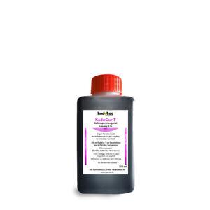 Kaliumpermanganat Lösung 5 % Parasiten Koi Teich KadoCur T 250 ml