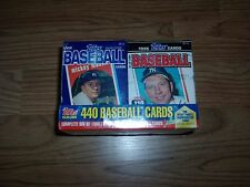 1996 TOPPS BASEBALL SERIES 1 & 2 FACTORY SEALED SET CEREAL EDITION 5 -A,B,C,D