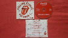 """ROLLING STONES """"Coca Cola Presenta Vol. 1 & 2"""" VERY RARE PROMO Mexican CD SET"""